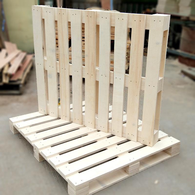 木托盘的堆积方式
